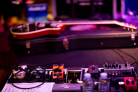 music nightclub livehouse instrument environment blur background 免版税图像