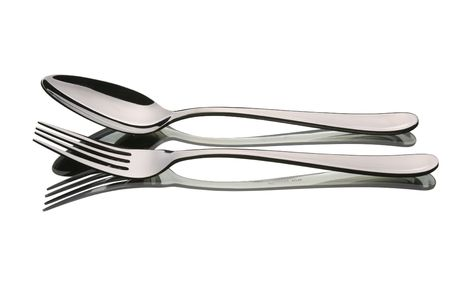fork and spoon side by side
