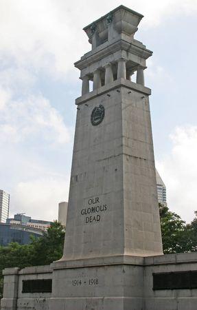 World War I Memorial in Singapore Editorial
