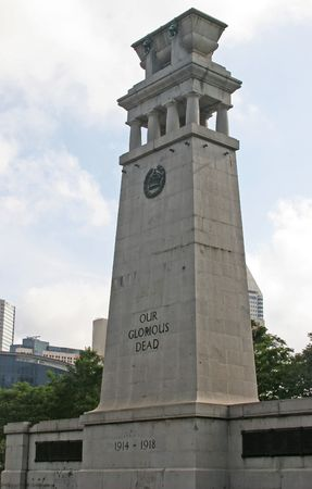 World War I Memorial in Singapore Editorial