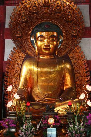 Buddha Statue, LiuRong Temple, Guangzhou