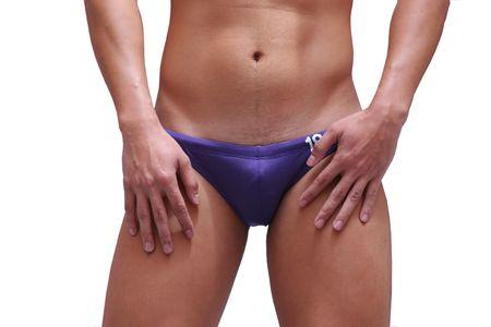 Man in Swimming Trunk