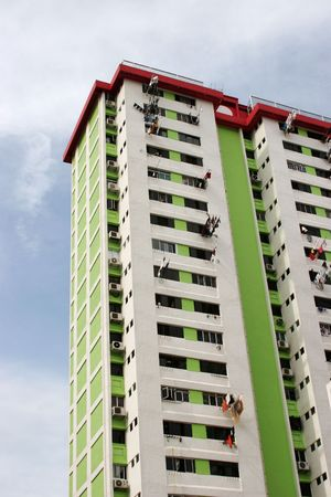 Housing Blocks in Singapore Stock Photo - 671373