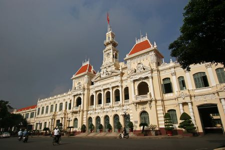 Peoples Committee building, Ho Chi Minh City, Vietnam