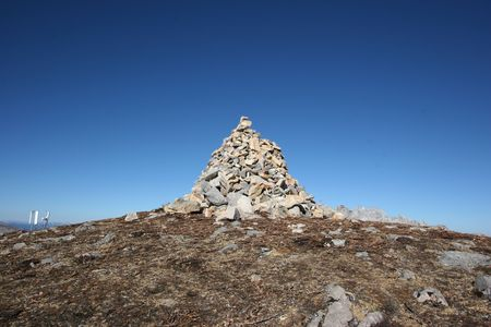 high altar: Tibetan scared rock altar in ShiKa Snowy Mountain, Yunnan, China