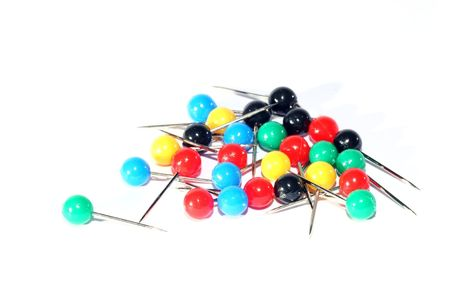 disarray: Pins Stock Photo