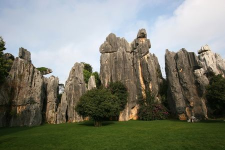 Stone Forest in Kunming, Yunnan, China
