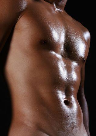 naked male torso