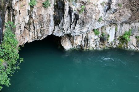 spring water: Vrelo Bune, source of Bune River in Bosnia and Herzegovina
