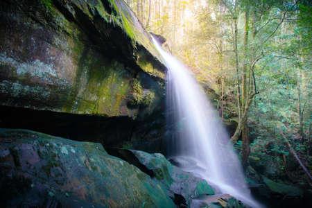 phukradueng: water fall, phukradueng national park in Thailand