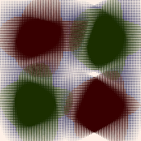 diffused: Op-art abstract background of diffused shapes.  Illustration