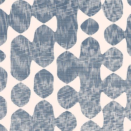 irregular shapes: Composici�n abstracta de formas irregulares llenos de l�neas difusas y puntos. Vectores