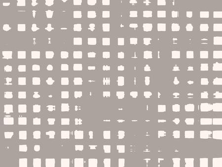 irregular: Abstract grunge background of irregular geometric elements.   Illustration