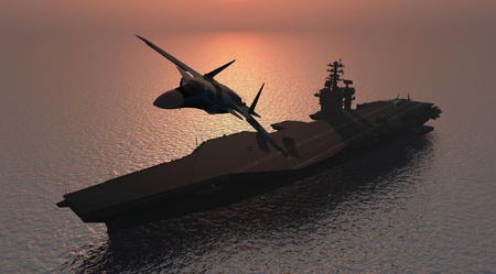 navy ship: Silhouette of military aircraft and spacecraft.