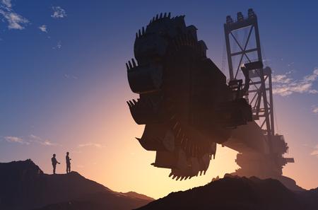 crane: Huge excavator in his career.