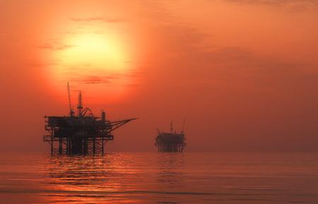 mantenimiento: La producción de petróleo en el mar