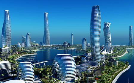 Future City on the coast.