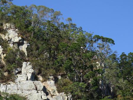 queensland: A detail of a rocky escarpment in Northern Queensland, Australia
