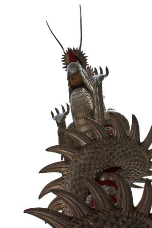 Silver dragon Stock Photo - 11846314