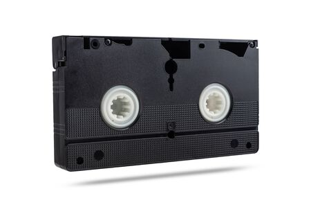 video cassette on a white background. isolated on white background. 免版税图像
