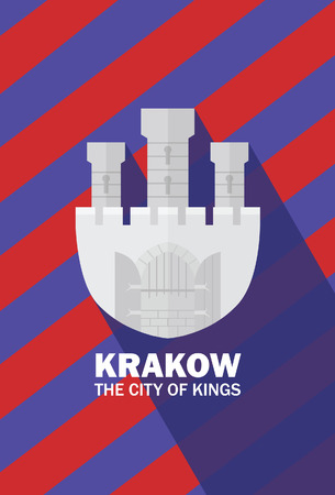 krakow: Krakow the city of kings Illustration