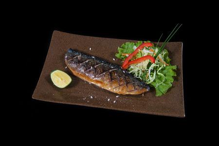 Saba fish grill