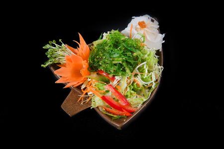 sake maki: Japanese salad