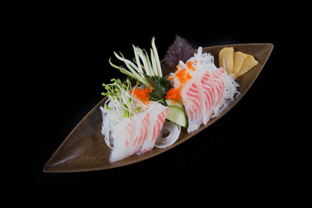 sake maki: Sashimi set