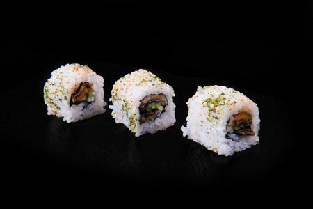 sake maki: sushi Stock Photo