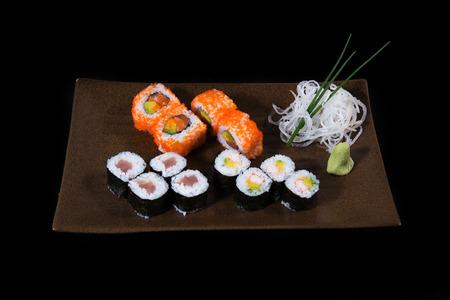 sake maki: Sushi roll set