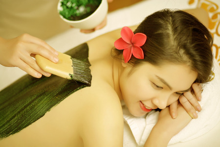 asian natural: Body Treatments spa oil beauty girl relax