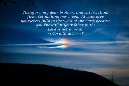 Beautiful sky with scripture 版權商用圖片