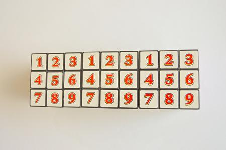 brain teaser: Three rubic cube on the table