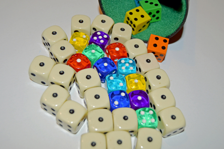 quantity: Dices on the bord
