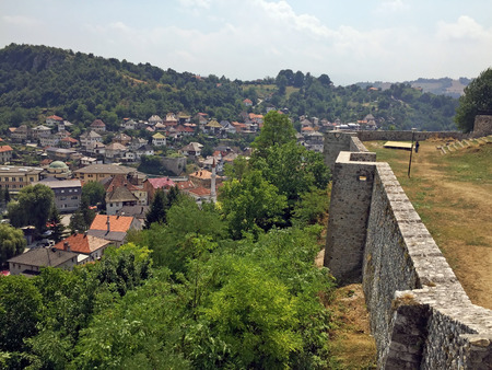 mehmed: Panoramic view from castle in the Travnik,Bosnia and Herzegovina