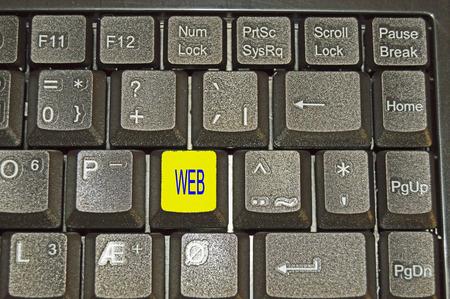 tastatur: Tastatur on the table Stock Photo