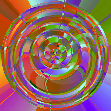 tropica: Abstract coloring tropica colors gradients background with visual effects Stock Photo
