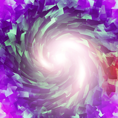 aneurism: Abstract aneurism coloring gradients background with visual lens distortion,cubism,lens flare and twirl effects