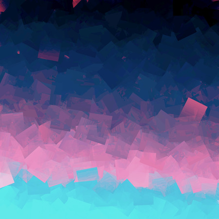 cubismo: Abstract deep sea coloring gradients background with visual cubism effects Foto de archivo
