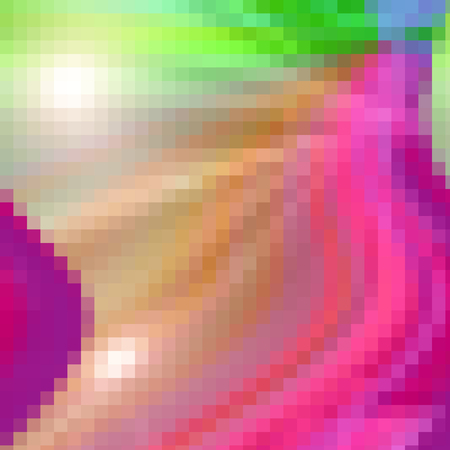 harmonies: Abstract coloring color harmonies gradients background with visual lens flare and mosaic effects