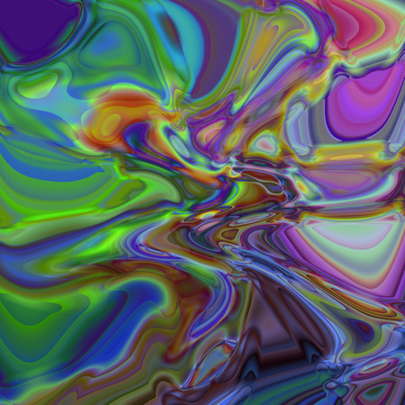 pinch: Abstract coloring background of the shadows gradient with visual illusion,pinch and wave effects