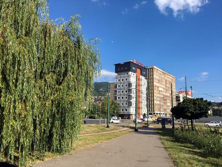 bosna: Travel to Europa,Sarajevo in the Bosnia and Herzegovina