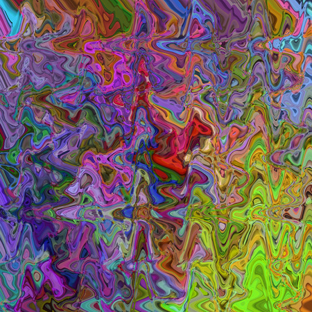 Abstract coloring background of the abstract gradient with visual illusion,wave and cubism effects