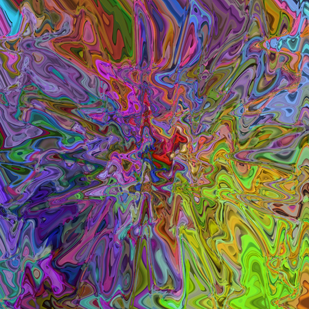 Abstract coloring background of the abstract gradient with visual illusion,wave,pinch and cubism effects