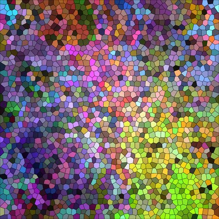 Abstract coloring background of the abstract gradient with visual illusion,stained glass and cubism effects