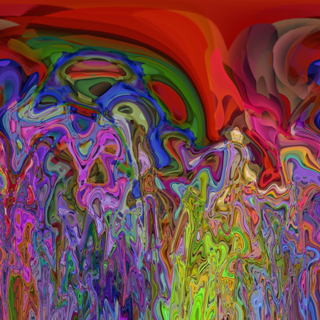 Abstract coloring background of the abstract gradient with visual illusion,spherize and cubism effects