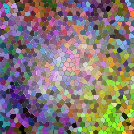 Abstract coloring background of the abstract gradient with visual illusion,wave,stained glass and cubism effects