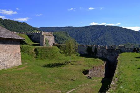 bosnia hercegovina: Travel to Europa.Panoramic view in Jajce,Bosnia and Herzegovina