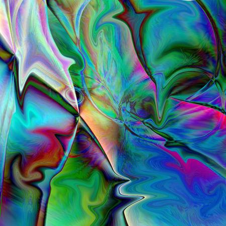 Abstracte kleurende achtergrond van de horizongradiënt met visuele knijpt en vloeibaar maakt gevolgen uit