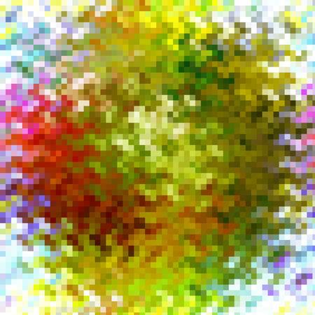 cubismo: Resumen de fondo coloración de la pendiente del extracto con el cubismo visual, las olas y los efectos de mosaico, buena para su diseño